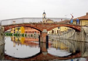 due chiacchere sul ponte di Gaggiano