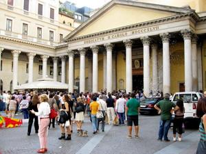 Milano piazza S.Carlo
