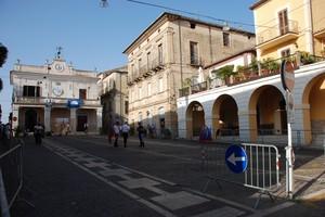 Piazza Giuseppe Garibaldi senza autoveicoli