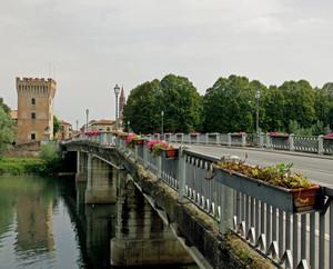 il ponte sull'Adda e la Torre del Guado