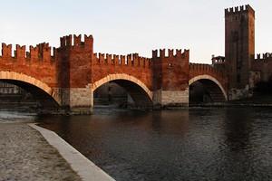 Tramonto su Ponte di Castelvecchio