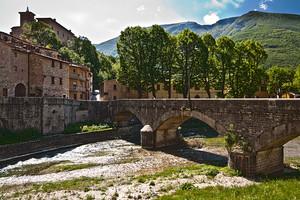 Ponte per Palazzo Brancaleoni
