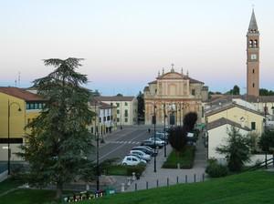 Occhiobello(RO), piazza Giacomo Matteotti