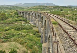 Ponte sul fiume Simeto