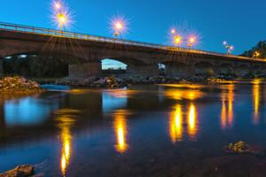 Luci su Ponte Bonaparte
