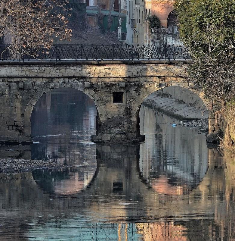 ''Ponte Furo (Visto dal lato opposto)'' - Vicenza