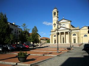 Gerenzano piazza Alcide De Gasperi