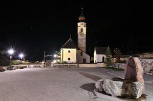 Piazzetta della Chiesa colfosco