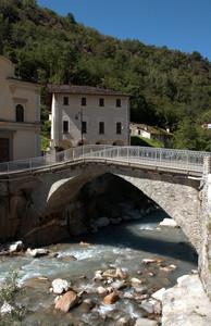 Un ponte del Seicento sul Mera