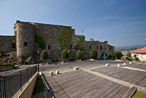 La piazza del castello