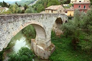 il ponte sul metauro