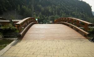 Antey, ponte in legno