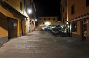 Piazza Garibaldi in una tarda sera di fine estate