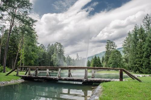 Villa santina il laghetto for Il laghetto