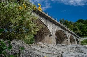 ponte sul torrente lumiei