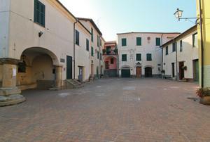 Piazza Brigata Liguria a Torria