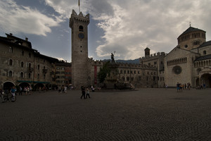 In piazza a Trento