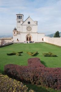 la piazza di San Francesco