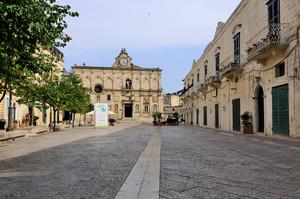 La piazza del liceo