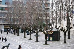 la piazza principale di Cosenza