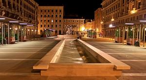 Notturna di Piazza Vittorio Veneto