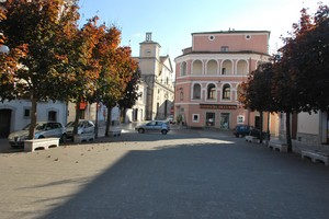 Piazza priincipale di Rotonda