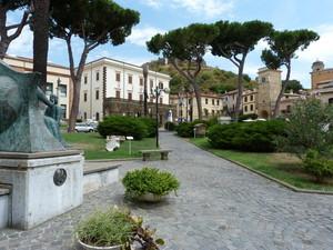 Una piazza museo