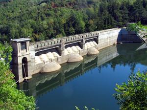 Ponte diga sulla Limentra