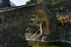 Ponte romano a punta acuta
