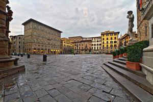 La piazza di Firenze