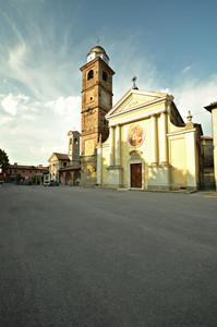 La piazza di Cristina