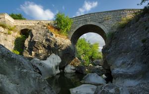 Il ponte antico di Bagnoli del Trigno