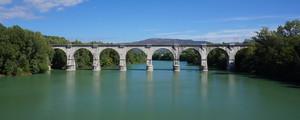 Ponte ferroviario sull' Isonzo