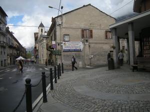Bussoleno, Piazza del Moro