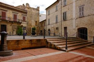 la piccola Piazza Soderini