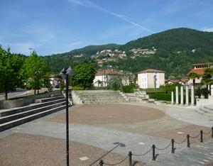 la piazza di Don Attilio Sangiorgio
