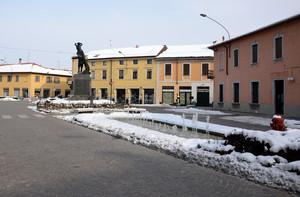 La piazza di Inveruno