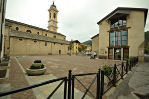 La piazza del Monsignore