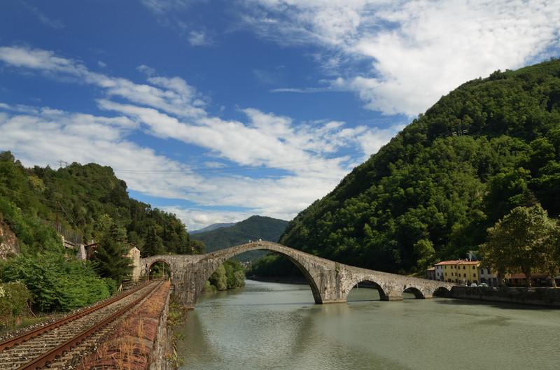 ''Viaggio verso i monti'' - Borgo a Mozzano