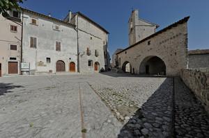 Piazza della pietra portafortuna