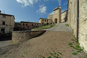 Piazza della colleggiata di S. Francesco