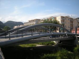 ponte sul torrente Sciusa a Finalpia