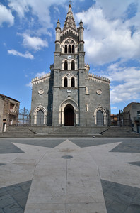 La piazza della Basilica Santa Maria Assunta