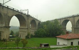 24 settembre_Giornata uggiosa, il viadotto si sdoppia
