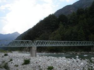 Scopa, ponte pedonale