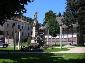La piazza dei fiammiferi