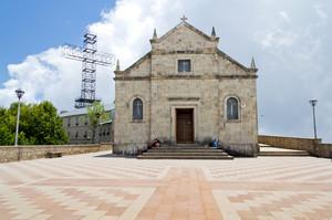 Piazza del santuario della madonna del sacro monte