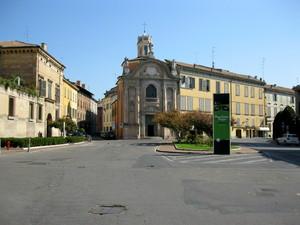 Reggio  Emilia piazzale Luigi Roversi
