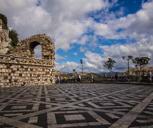 Castelmola – piazza