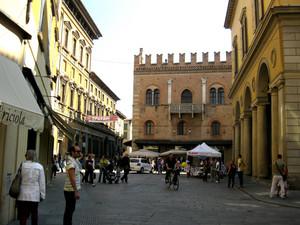 Reggio  Emilia piazza Del Monte già C.Battisti
